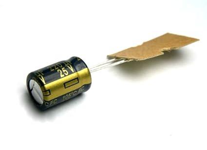 Electronic Components & Semiconductors 2 x 220UF 50V Radial Electrolytic Capacitor Panasonic JAPAN