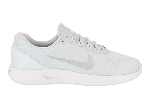 NIKE Women's Lunarglide 9 US Platinum Pure Chrome Wmns 7 BBdrPq