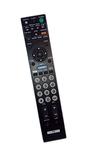 Replaced Remote Control Compatible for Sony KDL-23S2010 KDF-37H1000 RM-YD023 KLV-40BX400 KDL-19M4000 KDL32S20L1 KDL40WL135 KDL40V4100 KDL22BX300 KDL40S4100 PLASMA LCD LED BRAVIA HDTV TV -  JustFine