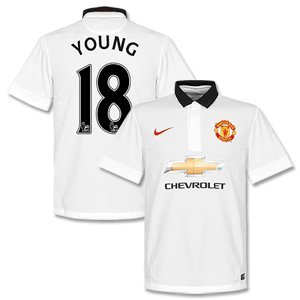 Manchester United Away Young Jersey 2014 / 2015 - L