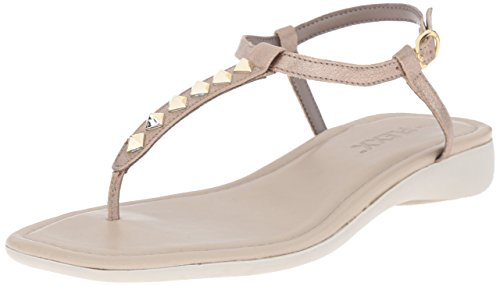 Tris Women's Bling Flexx The Flat Gold Sandal Shot qzUn6