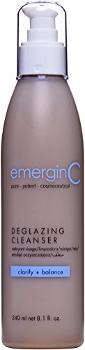 emerginC Deglazing Cleanser - Face Wash for Oily, Combination + Blemish Prone Skin, Soap Free (8.1 Ounces, 240 Milliliters)