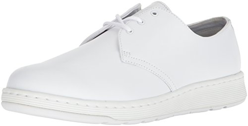 Dr. Martens Cavendish Witte Mono Sneaker Wit