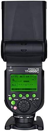 YONGNUO YN968C GN60 High-Speed Sync TTL Manual Flash Multi Flash for YN622C and YN560