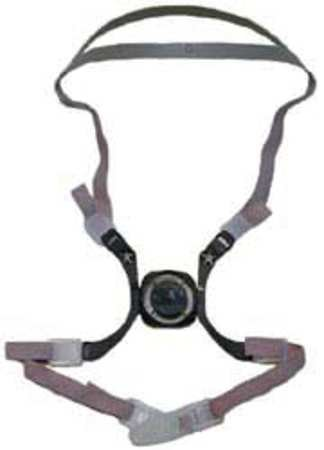 3M OH/ESD 6281 Head Harness Assembly (Price is for 5 - Assembly Harness Head