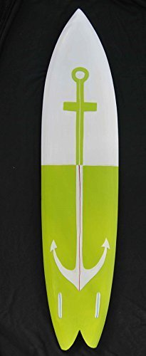Ancla Tabla de surf 100cm Tabla de surf Letrero de madera Mare Mar Decoración