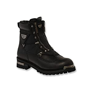 Milwaukee Motorcycle Clothing Company Men's Throttle Motorcycle Boots (Size 9.5)