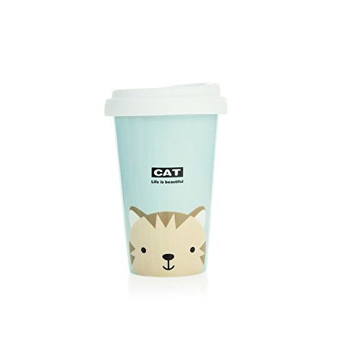 UPSTYLE Coffee Pattern Ceramic Silicone product image
