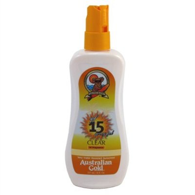Australian Gold Spf#15 Spray Gel Moisture Max 8 Ounce (235ml) (2 Pack)