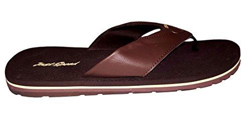 Js Menns Sommer Flip Flop Sandaler-size 13-15 Brun / Beige