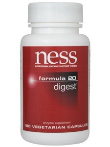 Ness Enzymes - Digest #20 180 Vegicaps [Health and Beauty]