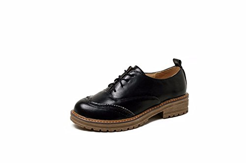 Zapatos de Tacón/Zapatos de Mujer, Zapatos, Escuela, Viento, Zapatos de Mujer, Grandes Astilleros Black (Cashmere)