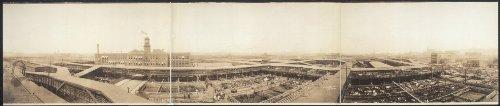 HistoricalFindings Photo: 1909 Panoramic: Stock Yards,Kansas City,Missouri ()