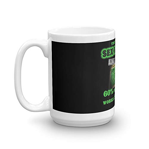 Anchorman - Sex Panther - FOR MEN ONLY. 15 Oz Coffee Mugs With Easy-Grip Handle, Suitable For Hot And Cold Drinks. Can Be Used For Home And Office
