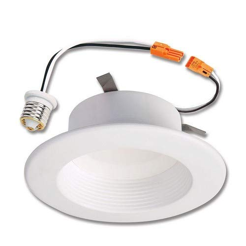 100% authentic 26a7d 9045a Halo RL56069S1EWHR RL 5 in. and 6 in. White Integrated Ceiling Light  Selectable CCT (2700K-5000K), (665 Lumens) LED Recessed Trim