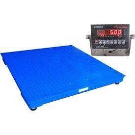 Optima Scale NTEP Legal for Trade 5 by 5-Feet Heavy Duty Floor/Pallet Scale, 10000-Pound by 2-Pound