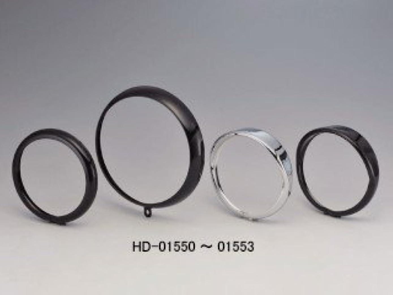 交じる元気考古学ハリケーン(HURRICANE) ノーマルヘッドライト用 バイザー クロームメッキ HA7404