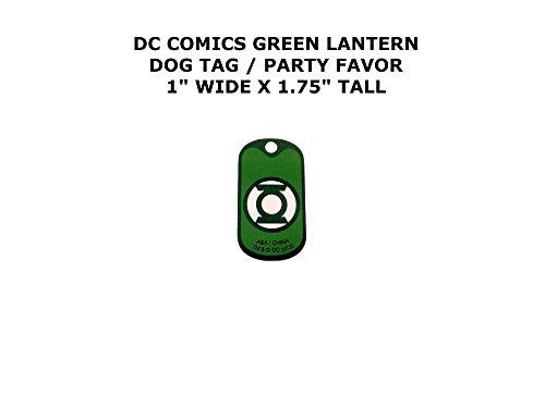 Kingdom Come Superman Costume (Green Lantern DC Comics Cartoon Theme Logo Dog Tag Keychain Party Favor)