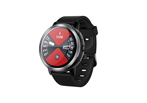 Smart Watch for Kids Men Women,LEMFO LEM8 Blue-tooth Smart Watch 4G WiFi 32GB Camera Heart Rate For Android/iOS,Outsta Stylish Smart Watch (RED)