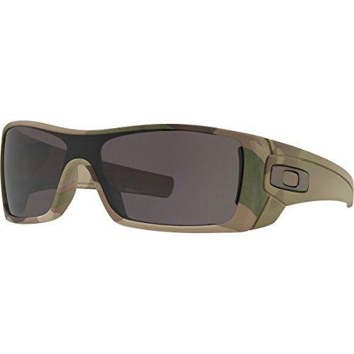 Oakley Men's Batwolf Rectangular Sunglasses, Multicam, 27 - Oakley Multicam Sunglasses