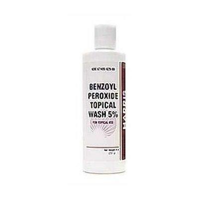 Harris Pharma 5% Benzoyl Perox Wash, 8 Ounce