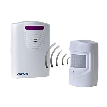 Detector de presencia por señal de radio, timbre para comercios, avisador de