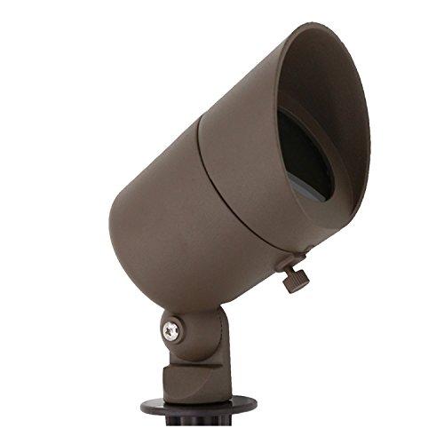 Lumina Lighting Hooded Spot Light, Bronze Finish SFL0101-BZ 20W MR16 Halogen Bulb Included