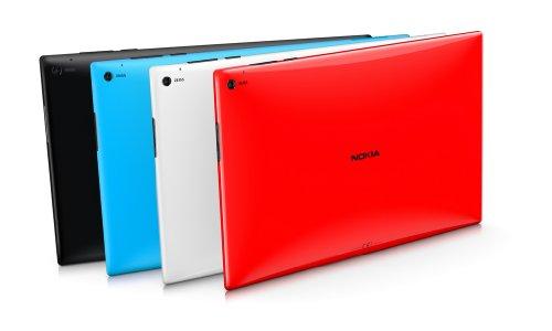NOKIA LUMIA 2520 - 32GB - BLACK-SILK - TABLET PC - LTE 4G RX-113 - Unlocked - International Version No Warranty