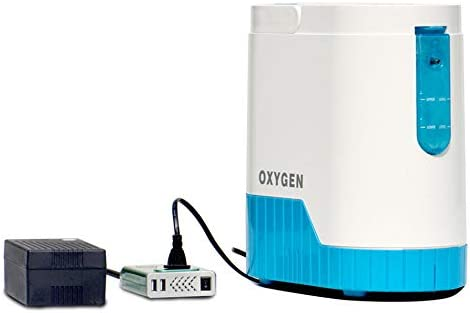 4YANG Concentrador de oxígeno, 1-5L / min 90% ± 3 (1L) Flujo de ...