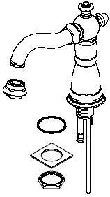 Delta Faucet RP34351RB Victorian, Spout Assembly for Widespread, Venetian Bronze ()