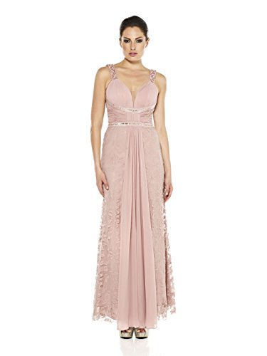 Pink Linie Damen Dynasty Kleid Dusky A RYwqUf