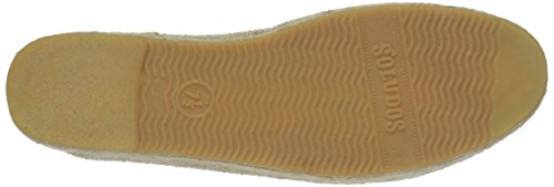 Soludos Women's Frenchie Platform Smoking Slipper Flat Sand aBemxINbb
