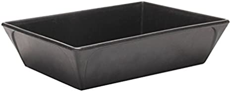 Rubi 88570 Cubeta de goma para bricolaje, Negro, 2 l