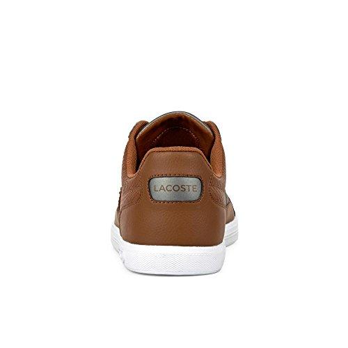 Lacoste Herren Europa 417 1 SPM Sneaker Cognac