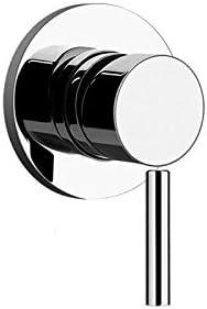 Gessi Via Tortona wall shower mixer tap 38312 + 19710