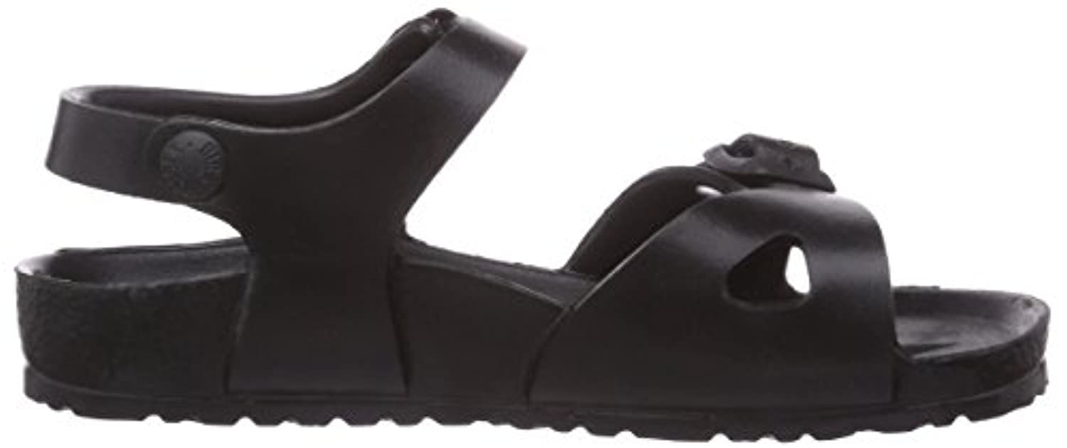 Birkenstock Rio Eva, Unisex Kids' Ankle Strap Sandals, Black, 1 UK (32 EU)
