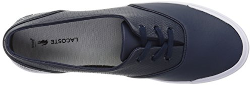 Lacoste Vrouwen Lancelle 3 Eye Sneakers Nvy / Ltgry Leather