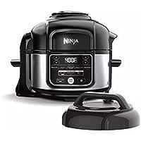 Ninja Foodi Programmable 10-in-1 5-Quart Pressure Cooker and Air Fryer - FD101 Stainless Steel (Renewed)