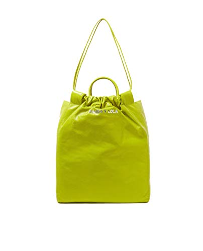 bag Bimba Femme y shopper Lola vertical leather 182BBAL1E Lime Pr0qPUxw