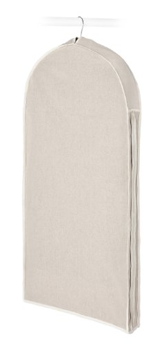 Whitmor Garment Bag, Natural Linen