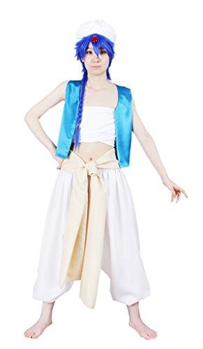 [MILICA BOOKS Magi: The Labyrinth of Magic Aladdin Cosplay Costume-Size M] (Aladdin Costume For Boy)