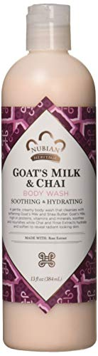 Nubian Heritage Body Wash, Goats Milk and Chai, 13 Fluid Ounce