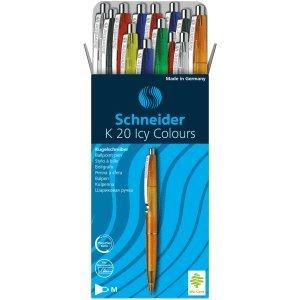 20x Schneider Novus Kugelschreiber LOOX M grün Schreibwaren Büro Schule Kulis