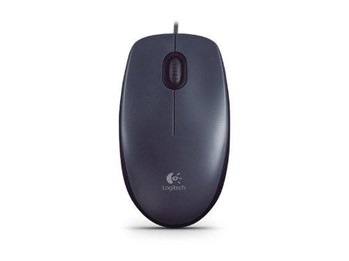 Logitech M90 Optische Maus schnurgebunden USB schwarz