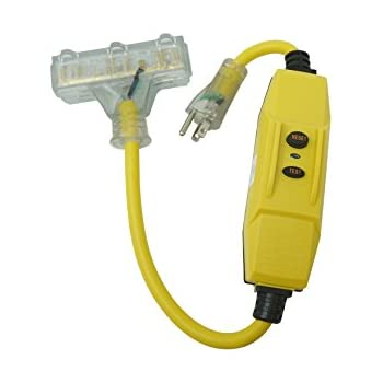 Woods 2879 Cord Ext Gfci 14/3Sjtw 6Ft Yel, 6-Feet, Yellow ... on