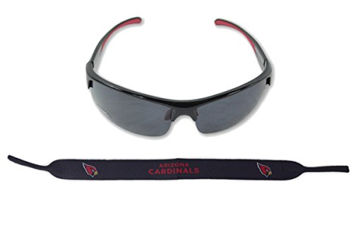 Arizona Cardinals Sunglasses - Siskiyou Sports Inc Official National Football League Fan Shop Authentic Sunglasses and Neoprene NFL Team Strap. Enjoy tailgating and the Game in the Sun with cool specs (Arizona Cardinals)
