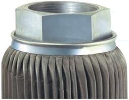 C100 3 100 Crimped Suction Strainer 100 Mesh Size 3 Female NPT Inc 100 GPM 3 Female NPT Flow Ezy Filters
