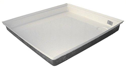 ICON Shower Pan SP100, Polar White