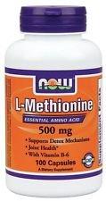 Now Foods L-methionine 500mg 100 Capsules (1)