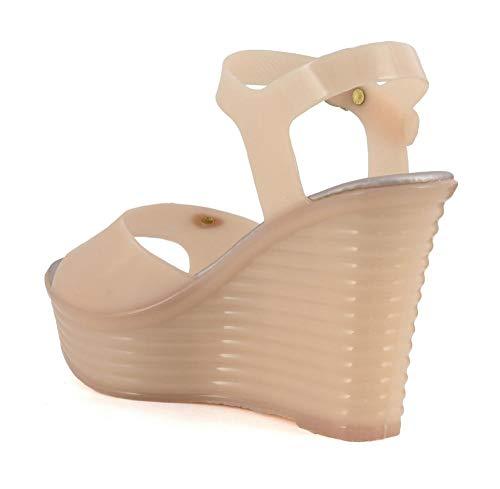 Sandalo Noir en Bianco MHE009203390 39 PVC 203 Cafè E17 fxvxRq